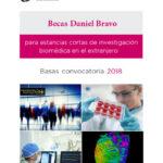 La Fundación Daniel Bravo convoca las becas para estancias cortas de investigación biomédica
