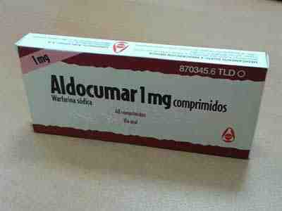 aldocumar-warfarina