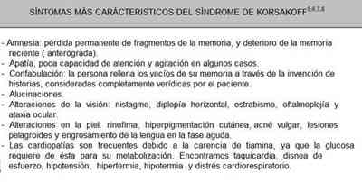 sindrome-Korsakoff-sintomas